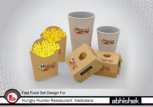 fast food set design