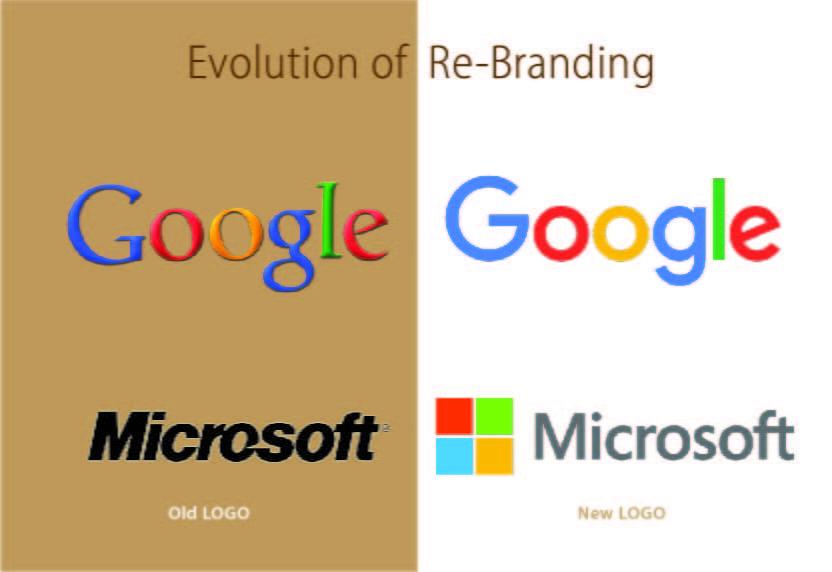Evolution of Re-Branding-