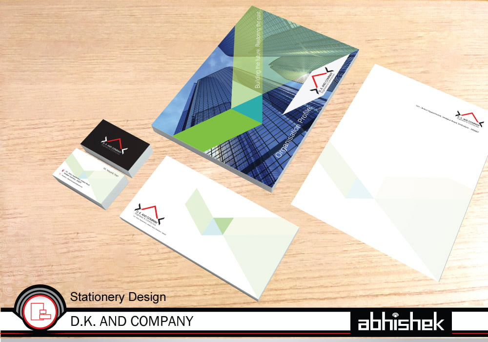 business card, stationery design