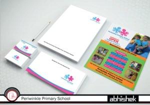 primary school stationery design