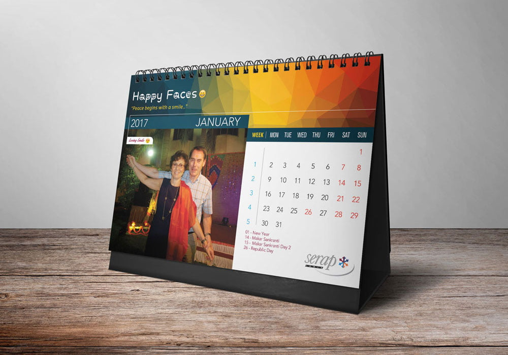 calendar design, business card, logo design