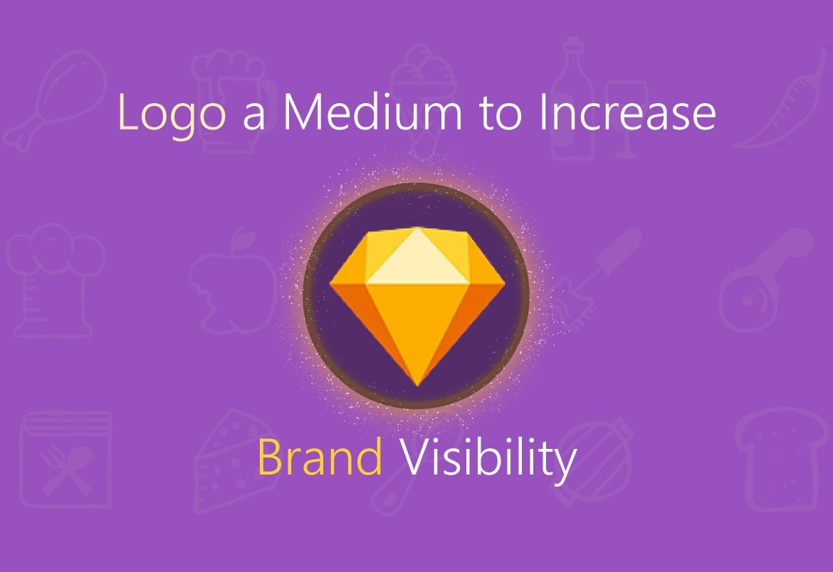 Logo A Medium To Increase Brand Visibility | Leader in