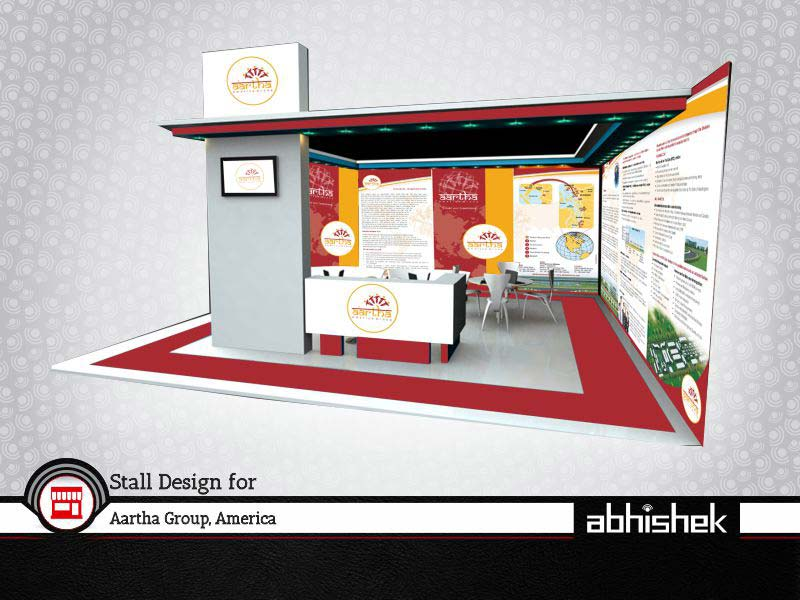 Exhibition Stall Rates : Exhibition stall design company