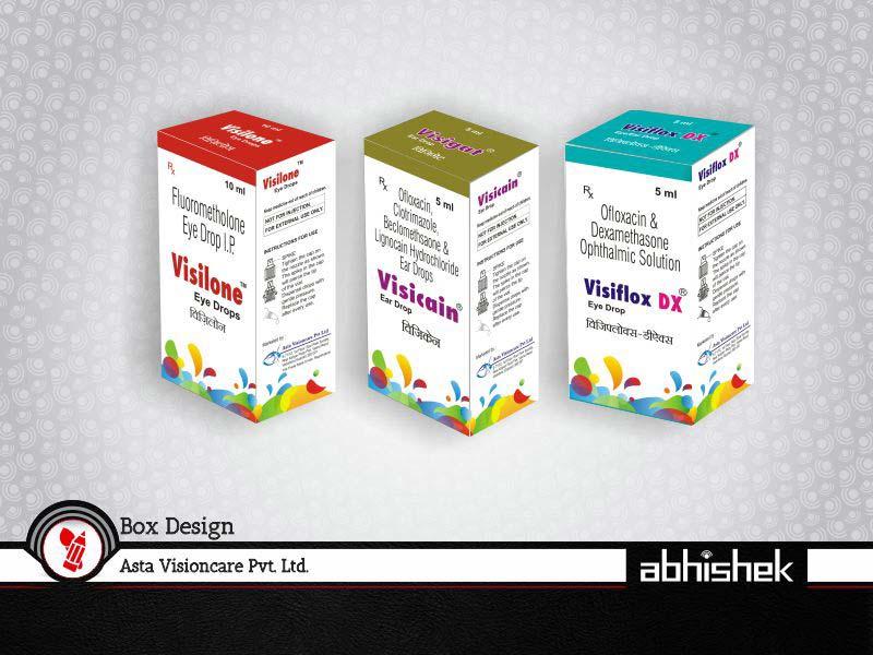 Box Design for Asta Visioncare | Leader in Branding Agency