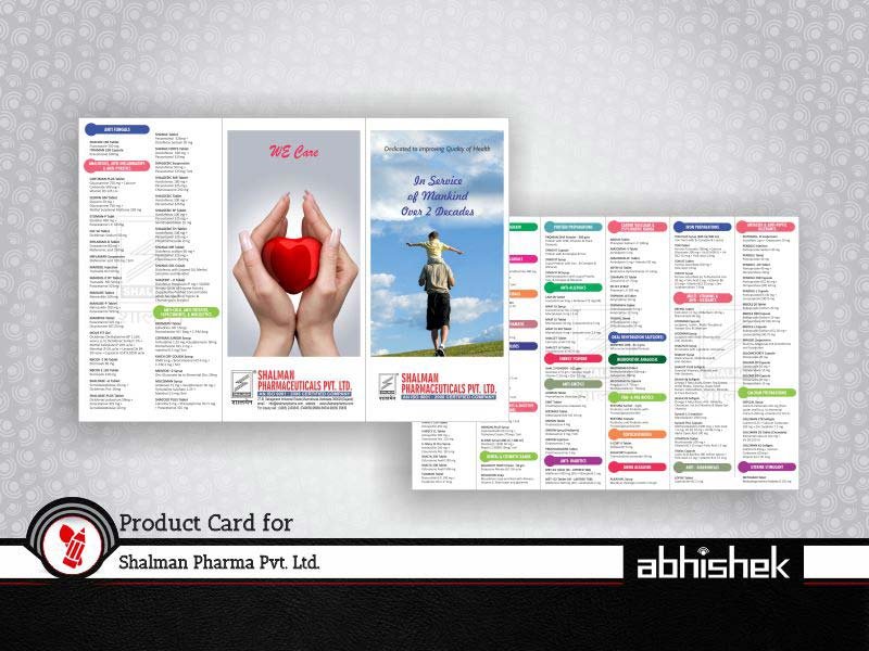 Product card for shalman pharma leader in branding agency india business cards web design printing services reheart Gallery